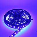 رخيصةأون تزيين المنزل-hkv® smd 5050 دافئ أبيض بارد أبيض أزرق led قطاع ماء dc12v 5m 300led أسود فيتا led ضوء شرائط مرنة نيون شريط الإضاءة