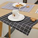 preiswerte Tischunterlagen-Moderne 100g / m2 Polyester gestricktes Stretch / Nicht gewebt Quadratisch Platztdeckchen Geometrisch Tischdekorationen 1 pcs