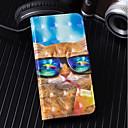 economico Proteggi-schermo per iPad-Custodia Per Samsung Galaxy S9 Plus / S9 A portafoglio / Porta-carte di credito / Con supporto Integrale Gatto Resistente pelle sintetica per S9 / S9 Plus / S8 Plus
