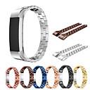 voordelige Horlogebandjes voor Fitbit-Horlogeband voor Fitbit Alta HR / Fitbit Alta Fitbit Sportband Roestvrij staal / Keramiek Polsband
