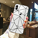 رخيصةأون أغطية أيفون-غطاء من أجل Apple iPhone X / iPhone 8 Plus / iPhone 8 شفاف / نموذج غطاء خلفي مأكولات / فاكهة ناعم TPU