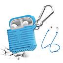 hesapli Kulaklık Setleri ve Kulaklıklar-Kulaklık Kılıfı / Kulaklık Organizer Silikon Havuz / Siyah / Gri 1 pcs