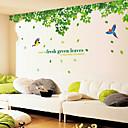 billige Dekorationsklistermærker-Dekorative Mur Klistermærker - Animal Wall Stickers Blomstret / Botanisk Stue / Soveværelse / Badeværelse