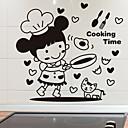 رخيصةأون ملصقات ديكور-لواصق حائط مزخرفة - لواصق حائط الطائرة الأحرف مطبخ / غرفة الطعام