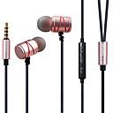 hesapli Kulaklık Setleri ve Kulaklıklar-AWEI ES-910TY Kulakta Kablo Kulaklıklar Metal Kabuk Oyunlar Kulaklık Mini / Stereo / Mikrofon ile kulaklık