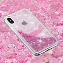 billige iPhone-etuier-Etui Til Apple iPhone X / iPhone 8 Plus Flydende væske / Transparent / Mønster Bagcover Blonde Tryk Blødt TPU for iPhone X / iPhone 8 Plus / iPhone 8