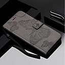رخيصةأون حافظات / جرابات هواتف جالكسي J-غطاء من أجل Samsung Galaxy J7 (2017) / J6 / J5 (2017) محفظة / حامل البطاقات / مع حامل غطاء كامل للجسم فراشة قاسي جلد PU