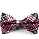 cheap Men's Bow Ties-Men's Party / Basic Bow Tie - Striped / Color Block / Plaid Bow