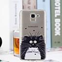 رخيصةأون واقيات شاشات سامسونج-غطاء من أجل Samsung Galaxy J7 (2017) / J6 / J5 (2017) شفاف / نموذج غطاء خلفي قطة ناعم TPU