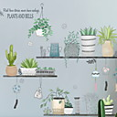 ieftine Acțibilde de Decorațiuni-Autocolante de Perete Decorative - Autocolante perete plane Floral / Botanic Dormitor