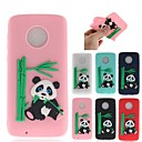 cheap iPhone Cases-Case For Motorola MOTO G6 / Moto G6 Plus Pattern Back Cover 3D Cartoon / Panda Soft TPU for MOTO G6 / Moto G6 Plus