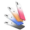 hesapli iPhone Kılıfları-Pouzdro Uyumluluk Apple iPhone X / iPhone 8 / iPhone 8 Plus Toz Geçirmez Arka Kapak Renkli Gradyan Yumuşak TPU için iPhone X / iPhone 8 Plus / iPhone 8