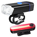 cheap Bike Lights-LED Bike Light Rechargeable Bike Light Set Front Bike Light Rear Bike Tail Light XP-G2 Mountain Bike MTB Cycling Waterproof Portable Quick Release Li-polymer 350 lm Built-in Li-Battery Powered / ABS
