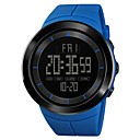 رخيصةأون Huawei أغطية / كفرات-SKMEI رجالي ساعة رياضية ساعة عسكرية ساعة رقمية ياباني رقمي جلد اصطناعي أسود / أزرق / أحمر 50 m المنبه الكرونوغراف منطقتا زمنية رقمي كاجوال موضة - أخضر أزرق كاكي سنة واحدة عمر البطارية / ساعة التوقف