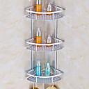 billige Badeværelsesartikler-Badeværelseshylde Nyt Design Moderne Aluminium 1pc Vægmonteret