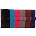 رخيصةأون أطقم المجوهرات-غطاء من أجل Samsung Galaxy S8 حامل البطاقات / قلب غطاء كامل للجسم لون سادة / ماندالا نمط ناعم جلد PU