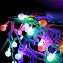 tanie Taśmy świetlne LED-10 m Łańcuchy świetlne 100 Diody LED Wiele kolorów Dekoracyjna / Godny podziwu 220-240 V 1 zestaw