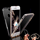hesapli iPhone Kılıfları-Pouzdro Uyumluluk Apple iPhone X / iPhone 8 Şeffaf Tam Kaplama Kılıf Solid Sert TPU için iPhone X / iPhone 8 Plus / iPhone 8