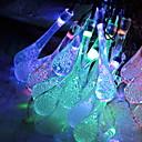 voordelige Slimme LED-lampen-5M Verlichtingsslingers 20 LEDs Meerkleurig Decoratief / Aanbiddelijk 220-240 V 1 set