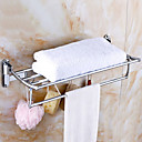billige Badeværelsesartikler-Håndklædestang Nyt Design Moderne Rustfrit Stål 1pc Dobbelt Vægmonteret