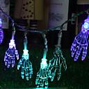 hesapli LED Şerit Işıklar-2,5m Dizili Işıklar 20 LED'ler Çok Renkli Yeni Dizayn / Dekorotif / Havalı AA Bataryalar Powered 1set
