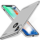 رخيصةأون أغطية أيفون-غطاء من أجل Apple iPhone X / iPhone 8 Plus / iPhone 8 ضد الصدمات غطاء خلفي لون سادة قاسي الكمبيوتر الشخصي