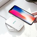Недорогие Беспроводные зарядные устройства-nillkin 10w / 7.5w / 5w быстрое зарядное устройство беспроводное зарядное устройство для iphone xs iphone xr xsmax iphone 8 samsung s9 plus s8 примечание 8 или встроенный qi приемник смартфон