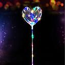 رخيصةأون ملصقات ديكور-3m 30led أدت سلسلة ستار على شكل قلب بالون الحب أضواء جارلاند لعيد الميلاد الزفاف تزيين المنزل