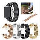 voordelige Apple Watch-hoesjes-Horlogeband voor Apple Watch Series 4/3/2/1 Apple Sportband Roestvrij staal Polsband