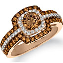 cheap Rings-Women's Layered Ring - Stylish, Luxury 6 / 7 / 8 / 9 / 10 Champagne For Gift Evening Party