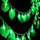 cheap Math Toys-5m String Lights 40 LEDs Green Decorative 220-240 V 1 set