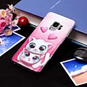 preiswerte Galaxy S Serie Hüllen / Cover-Hülle Für Samsung Galaxy S9 Plus / S9 IMD / Muster Rückseite Katze Weich TPU für S9 / S9 Plus / S8 Plus