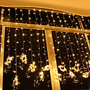 cheap LED String Lights-6m String Lights 600 LEDs Warm White Decorative 220-240 V 1 set