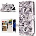 Недорогие Чехлы и кейсы для Galaxy S3-Кейс для Назначение SSamsung Galaxy S9 / S9 Plus / S8 Plus Кошелек / Бумажник для карт / со стендом Чехол Бабочка Твердый Кожа PU