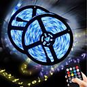 preiswerte LED Lichtstreifen-brelong 2 stücke 5 mt rgb musik sensor 150 led smd 5050 niederspannungsstreifen