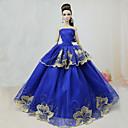 preiswerte Puppen und Stofftiere-Party / Abends Kleider Für Barbie-Puppe Polyester Kleid Für Mädchen Puppe Spielzeug