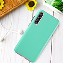 cheap Cases / Covers for Huawei-BENTOBEN Case For Huawei P20 Pro Shockproof / Ultra-thin Back Cover Solid Colored Hard TPU / PC for Huawei P20 Pro
