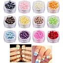 ieftine Brățări-Perle Strălucire Paiete Perlă Pentru Unghie Unghie deget picior Interfață 3D Serie de Bijuterii Romantic Series nail art pedichiura si manichiura La modă / Corean Ocazie specială / Zilnic / Mascaradă