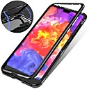 billige LED-spotlys-Etui Til Apple iPhone XR / iPhone XS Max Stødsikker / Magnetisk Bagcover Ensfarvet Hårdt Tempereret glas for iPhone XS / iPhone XR / iPhone XS Max