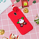 cheap Galaxy S Series Cases / Covers-Case For Samsung Galaxy J5 (2017) / J4 Pattern Back Cover Christmas Soft TPU for J7 (2017) / J7 (2016) / J5 (2017)