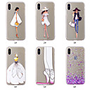 cheap iPhone Cases-Case For Apple iPhone XS / iPhone XS Max Pattern Back Cover Heart / Sexy Lady Soft TPU for iPhone XS / iPhone XR / iPhone XS Max