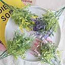 رخيصةأون أزهار اصطناعية-زهور اصطناعية 1 فرع كلاسيكي Wedding Flowers النمط الرعوي أزرق فاتح أزهار الطاولة