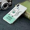 olcso iPhone tokok-Case Kompatibilitás Apple iPhone XR / iPhone XS Max Átlátszó / Minta Fekete tok Egyszarvú Puha TPU mert iPhone XS / iPhone XR / iPhone XS Max