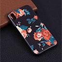 baratos Capinhas para iPhone-Capinha Para Apple iPhone XR / iPhone XS Max Estampada Capa traseira Flor Macia TPU para iPhone XS / iPhone XR / iPhone XS Max
