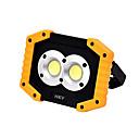 abordables LED-HKV 1pc 10 W Projecteurs LED Design nouveau Blanc Froid 5 V Eclairage Extérieur 2 Perles LED