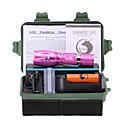 ieftine Inele-U'King Lanterne LED LED LED emițători 2000 lm 5 Mod Zbor Cu Baterie și Încărcător Zoomable Focalizare Ajustabilă Clip Camping / Cățărare / Speologie Utilizare Zilnică Exterior