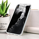 저렴한 아이폰 케이스-케이스 제품 Apple iPhone XS 방진 / 울트라 씬 / 패턴 뒷면 커버 동물 소프트 TPU 용 iPhone XS