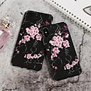 رخيصةأون أغطية أيفون-غطاء من أجل Apple iPhone XS / iPhone XR / iPhone XS Max نموذج غطاء خلفي زهور قاسي الكمبيوتر الشخصي