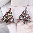 preiswerte Broschen-Damen Broschen - Weihnachtsbaum Stilvoll, Klassisch Brosche Gold / Silber Für Weihnachten
