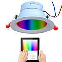 رخيصةأون مستلزمات وأغراض العناية بالكلاب-1PC 9 W 720 lm 48 الخرز LED الطيف الكامل تخفيت سهولة التثبيت أضواء LED RGB + الأبيض 110-240 V تجاري المنزل / مكتب غرفة الجلوس / الضيوف